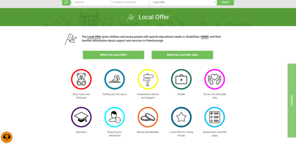 Local Offer Landing Page