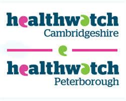 Healthwatch Cambridgeshire and Peterborough logo