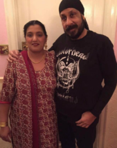 Photo of Del Singh and family