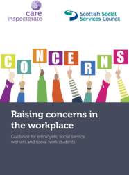 Raising concerns in the workplace