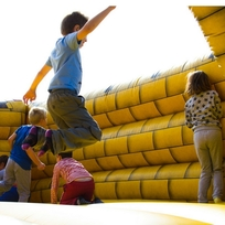 Bouncy Castle Fun at Upton Country Park