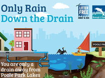 Only Rain down the drain campaign