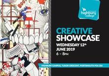 Highbury College Creative exhibition
