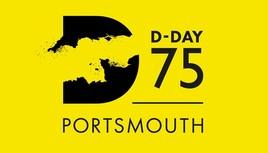 D Day 75 logo