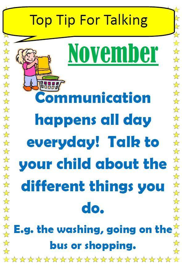 Tips for talking