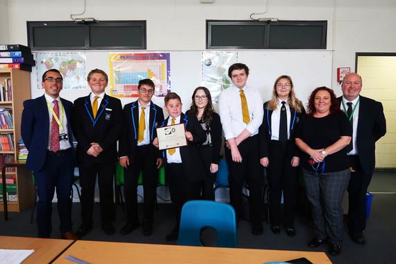 Miltoncross Academy Wellbeing Award