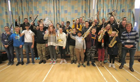 Portsmouth Music Hub - Army Day
