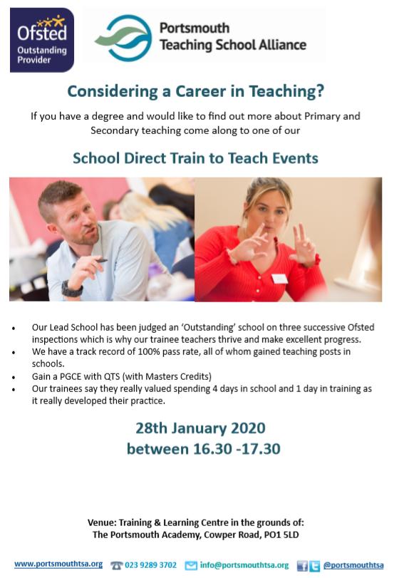 Train to Teach January 2020
