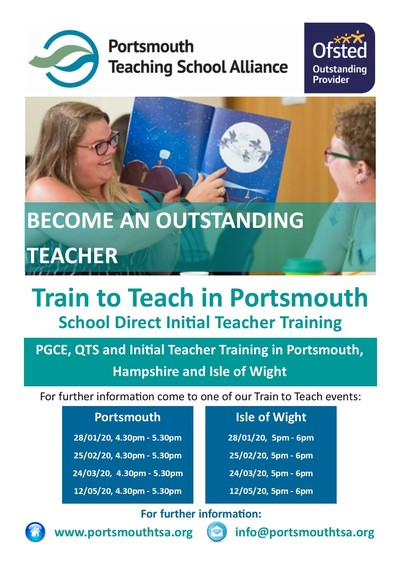 School Direct Train to Teach Events