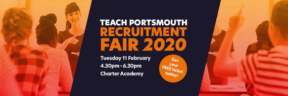 Teach Portsmouth Recruitment Fair 2020