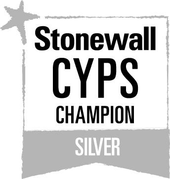 Stonewall CYPS Champion Silver Logo