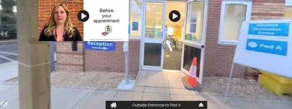 Virtual tour- entrance