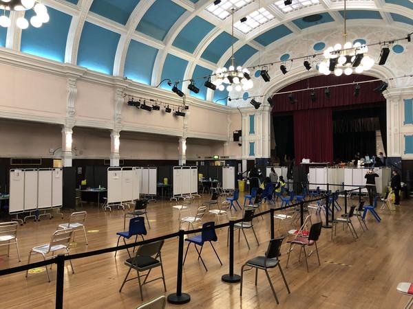 Redbridge Town Hall testing