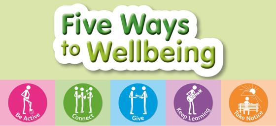 Five Ways to Wellbeing - Mental Health Awareness Week