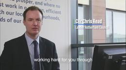 Councillor Read video message