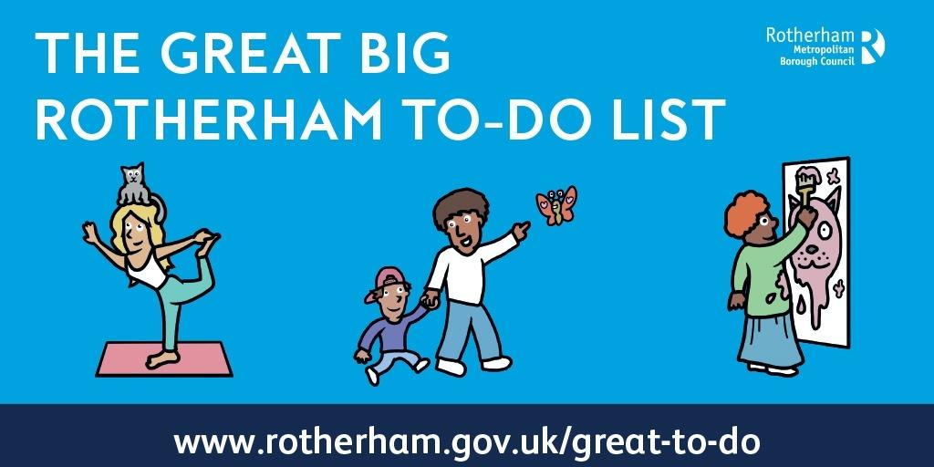Rotherham to-do list