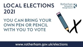 Elections - bring your own pen