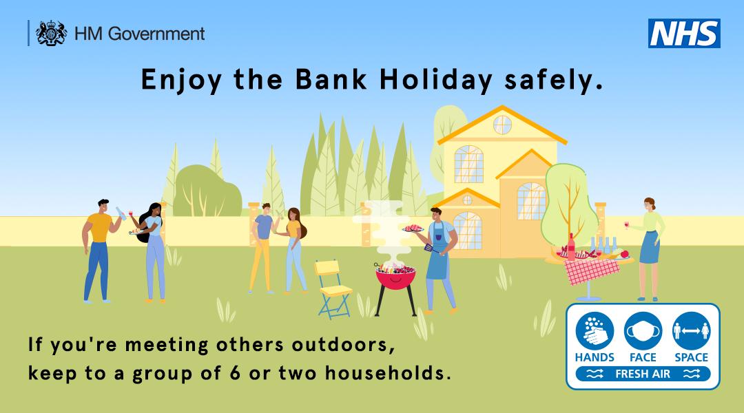 Enjoy Bank Holiday safely