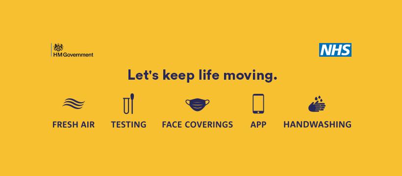 Keep life moving