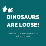 Dinosaur trail logo