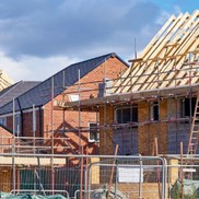 Picture of houses being built