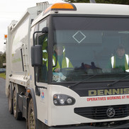 Picture of bin lorry