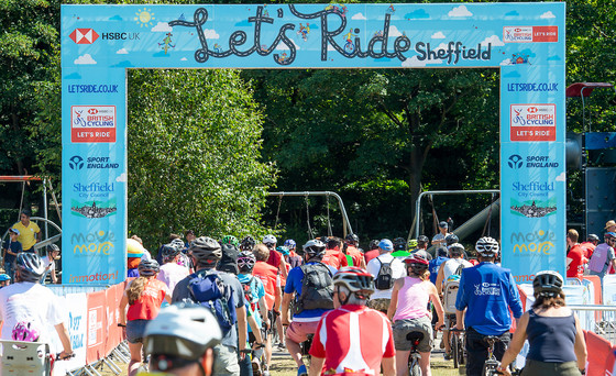 Let's Ride Sheffield cycling