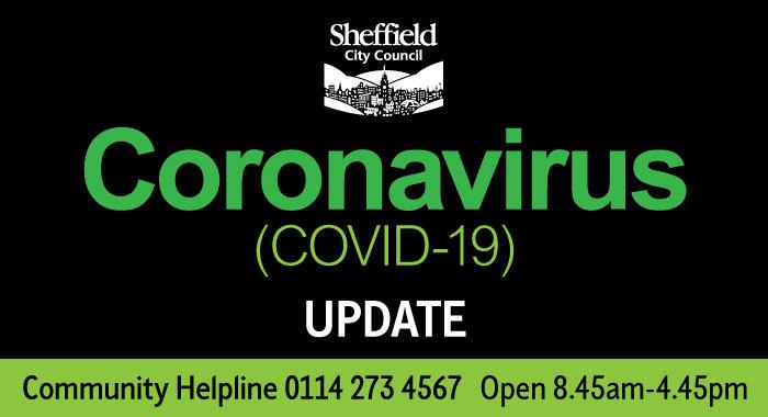 Coronavirus update hotline heade