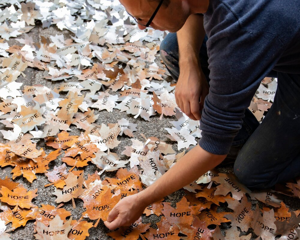 Leaves of the Trees Installation