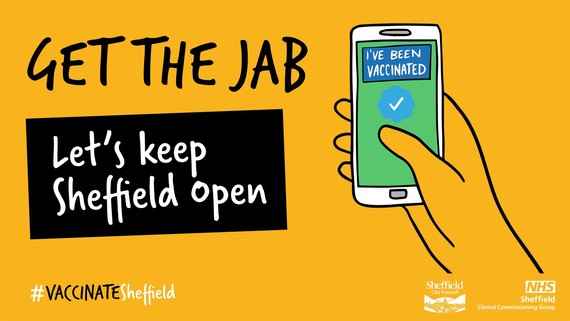 Get the Jab  - Covid poster