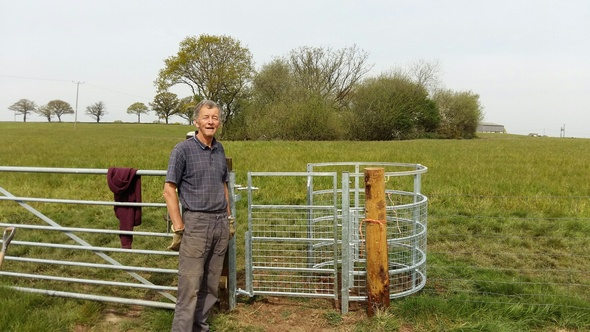 New Kissing Gate in Annscroft