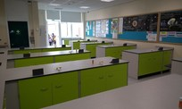Belvidere School new science room by PSG