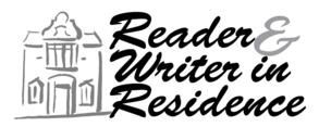 reader & writer                                          in residence logo