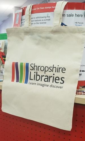 shrop libraries                                          bag