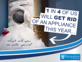 1 in four of us will get rid of an appliance this year what will you do with yours?