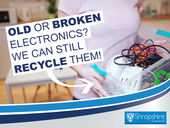 old or broken electronics we can recycle them all