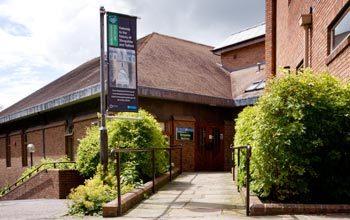 Shropshire Archives entrance