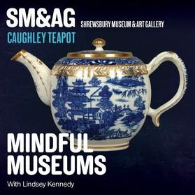 Caughley teapot