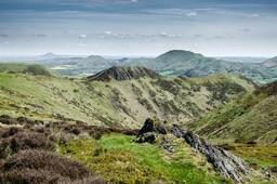 Long Mynd towards the Wrekin by Phil King