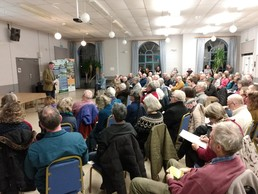 Climate Emergency event took place in February in Craven Arms