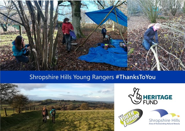 Young Rangers in the Shropshire Hills