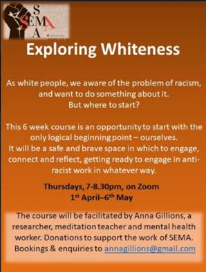 Exploring Whiteness