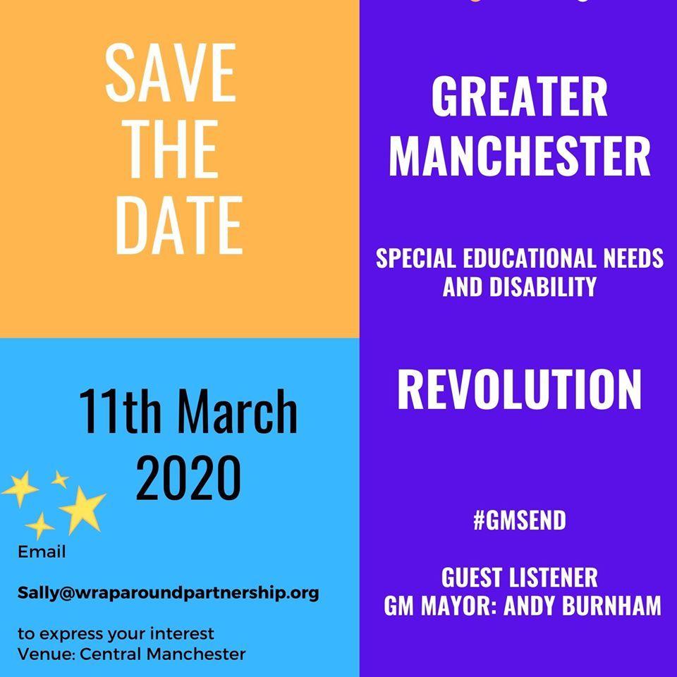 SEND Revolution save the date