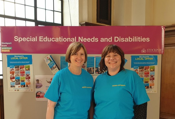 Pam and Cllr Elise - SEND Champions
