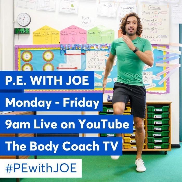 p.e with Joe