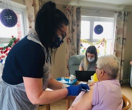 Care Home Vaccination