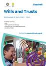 Wills and Trusts webinar