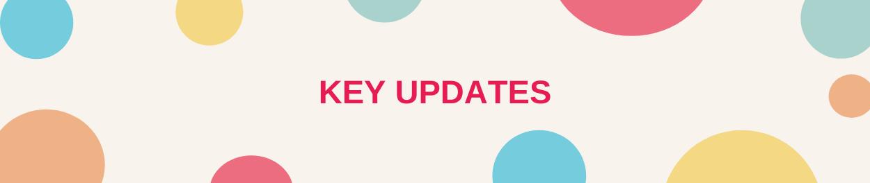 Key Updates