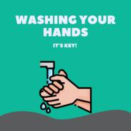 Hand-washing graphic