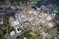 aerial veiw town centre